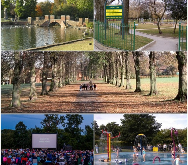 Parks in St Albans