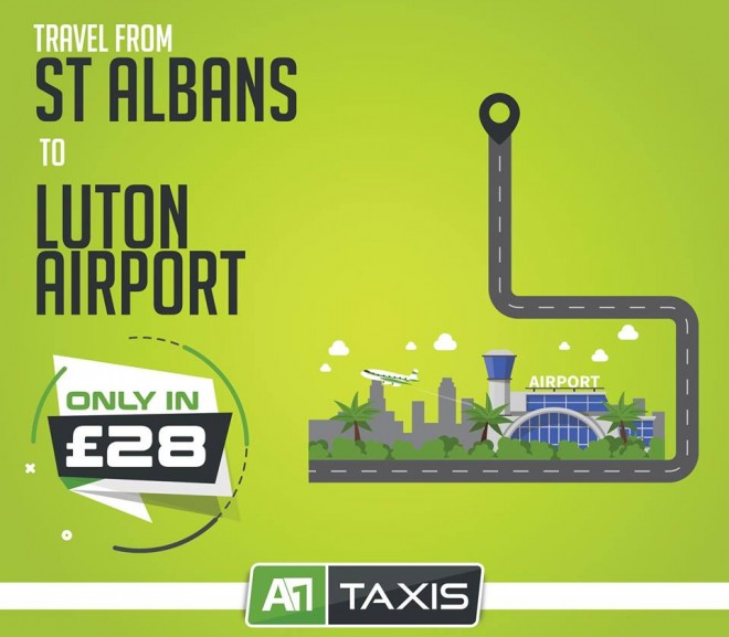 St Albans to Luton Airport