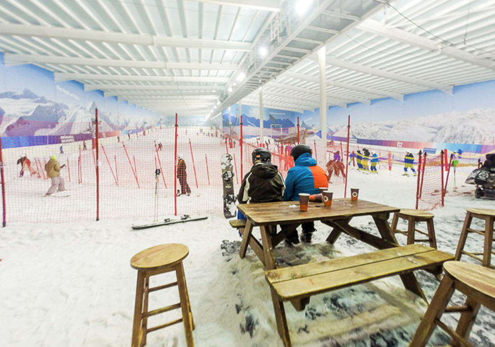Enjoy lessons at The Snow Centre