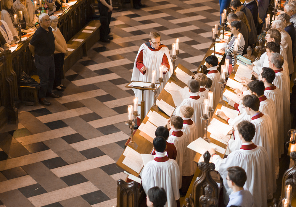 Enjoy the Choral Evensong