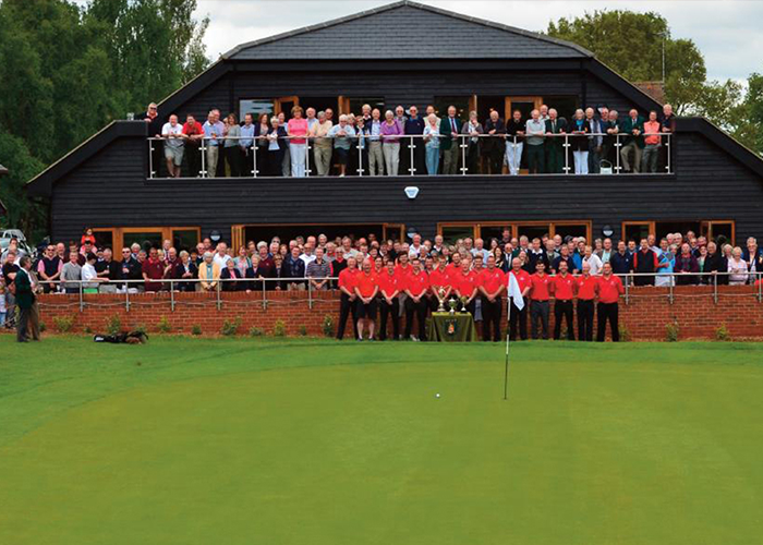 pening of the Harpenden Common Golf Club