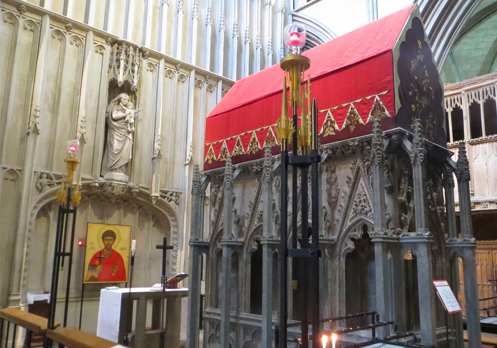 Visit the Shrine of St Alban
