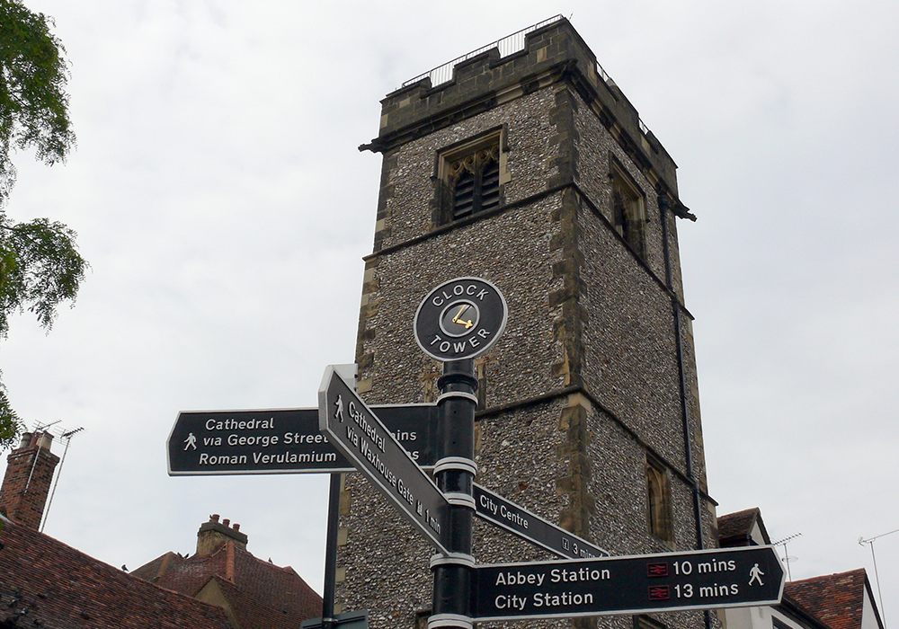 St Albans Clock Tower